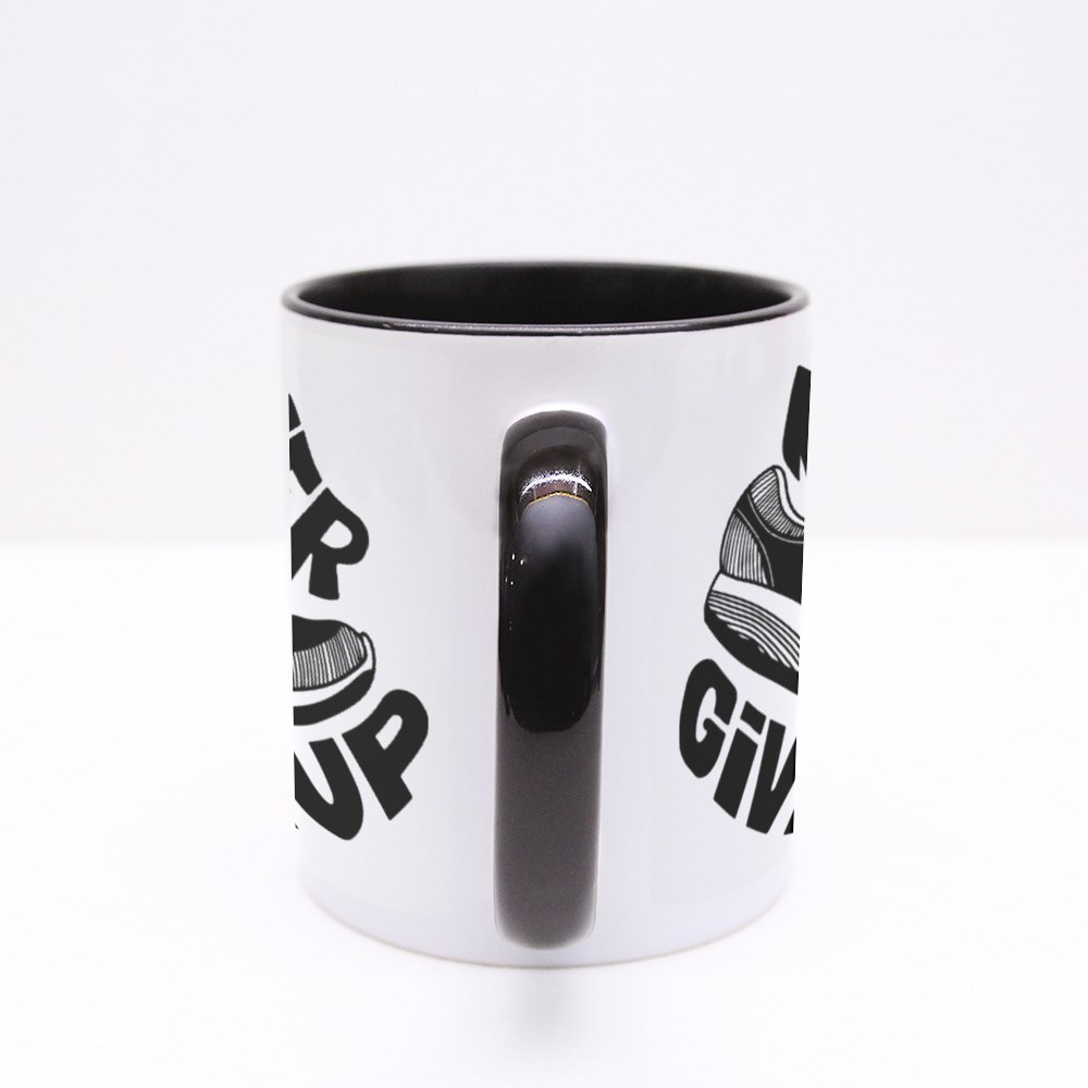 Never Give up on Me Colour Mugs