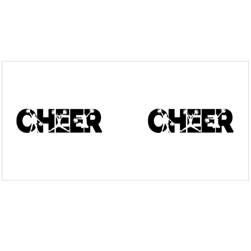 Cheerleader Silhouette Magic Mugs