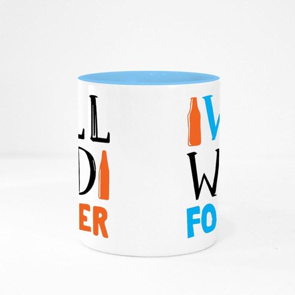 Will Weld for Beer-Welder Colour Mugs