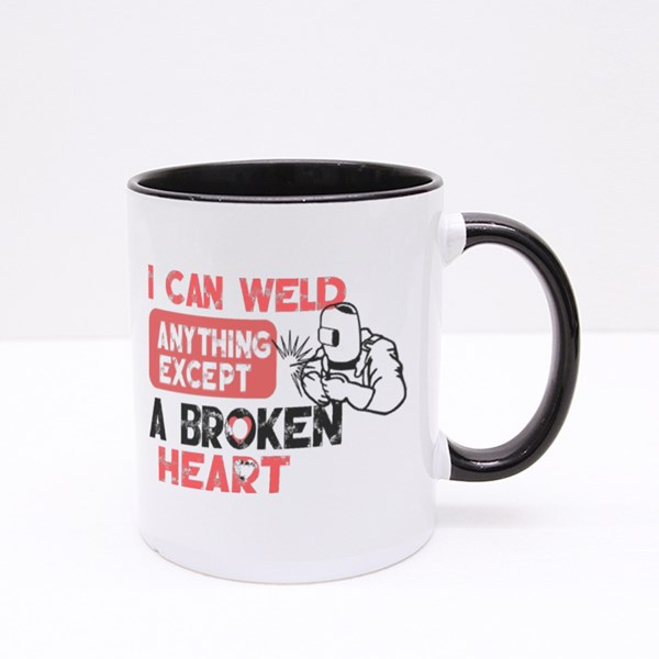 I Can Weld Anything Colour Mugs