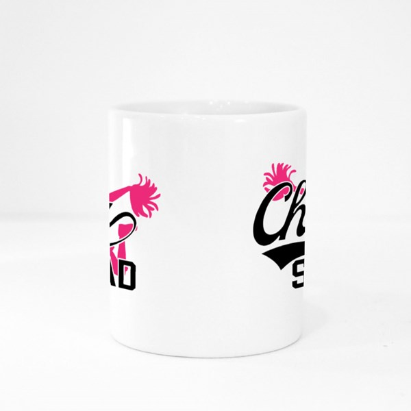Cheer Squad Silhouette Colour Mugs
