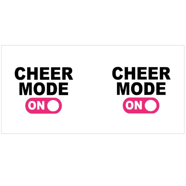 Cheer Mode on Switch Colour Mugs