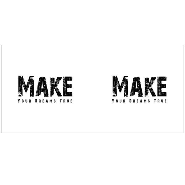 Make Your Dreams True Colour Mugs