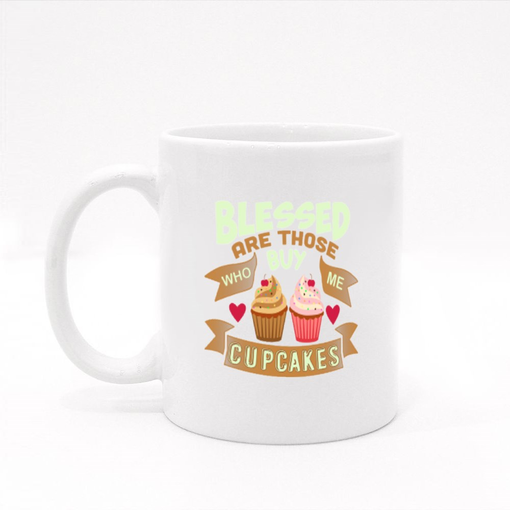 Cupcakes Quote and Saying Colour Mugs