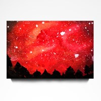 Red Starry Sky