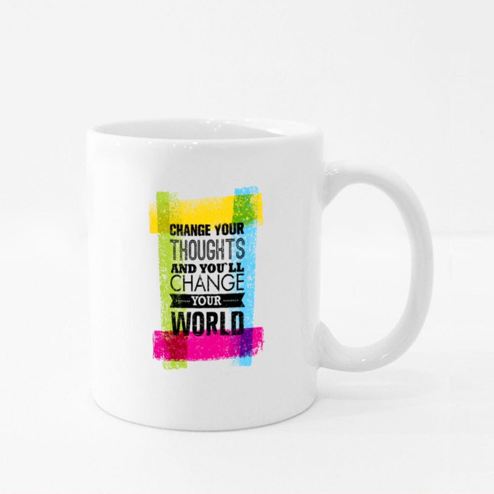 Change Your Thoughts Colour Mugs