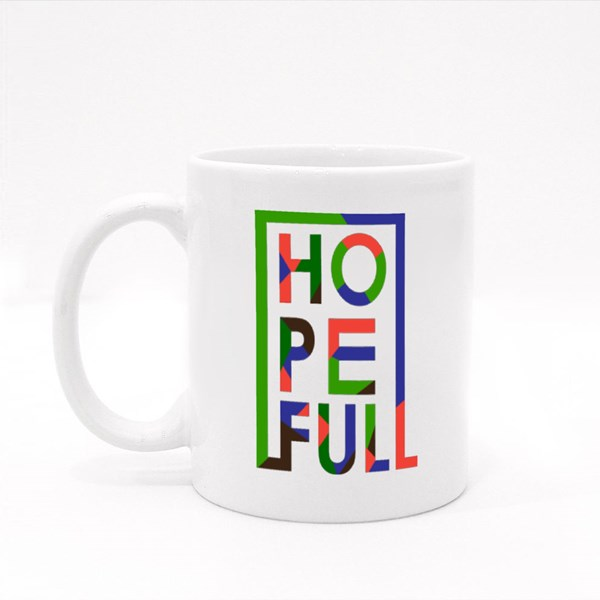 Hope Full Inspirational Quotes Colour Mugs