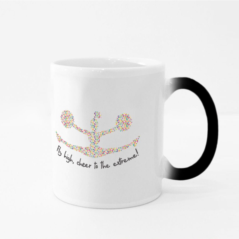Fly High, Cheer to the Extreme Magic Mugs