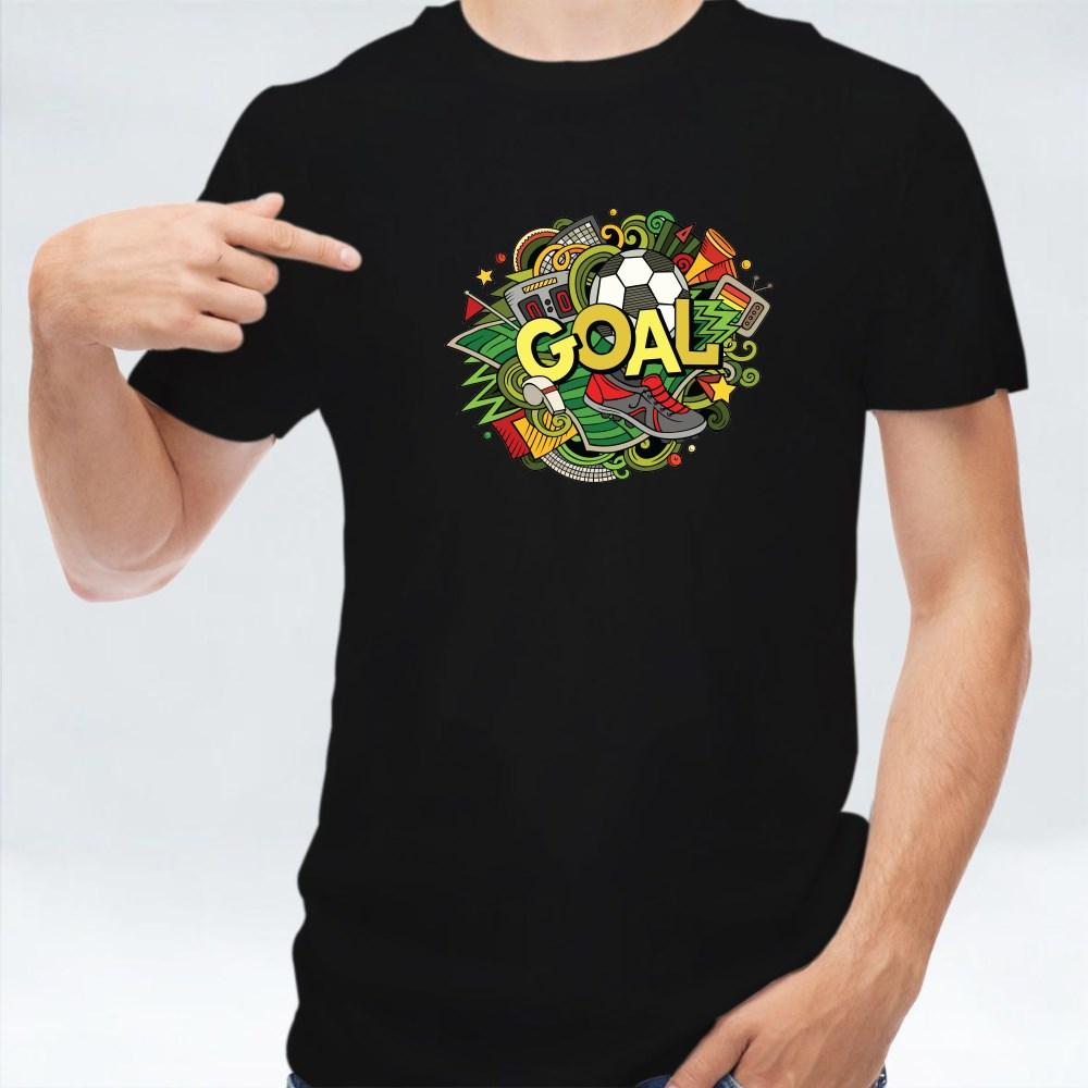 Cartoon Goal Word T-Shirts