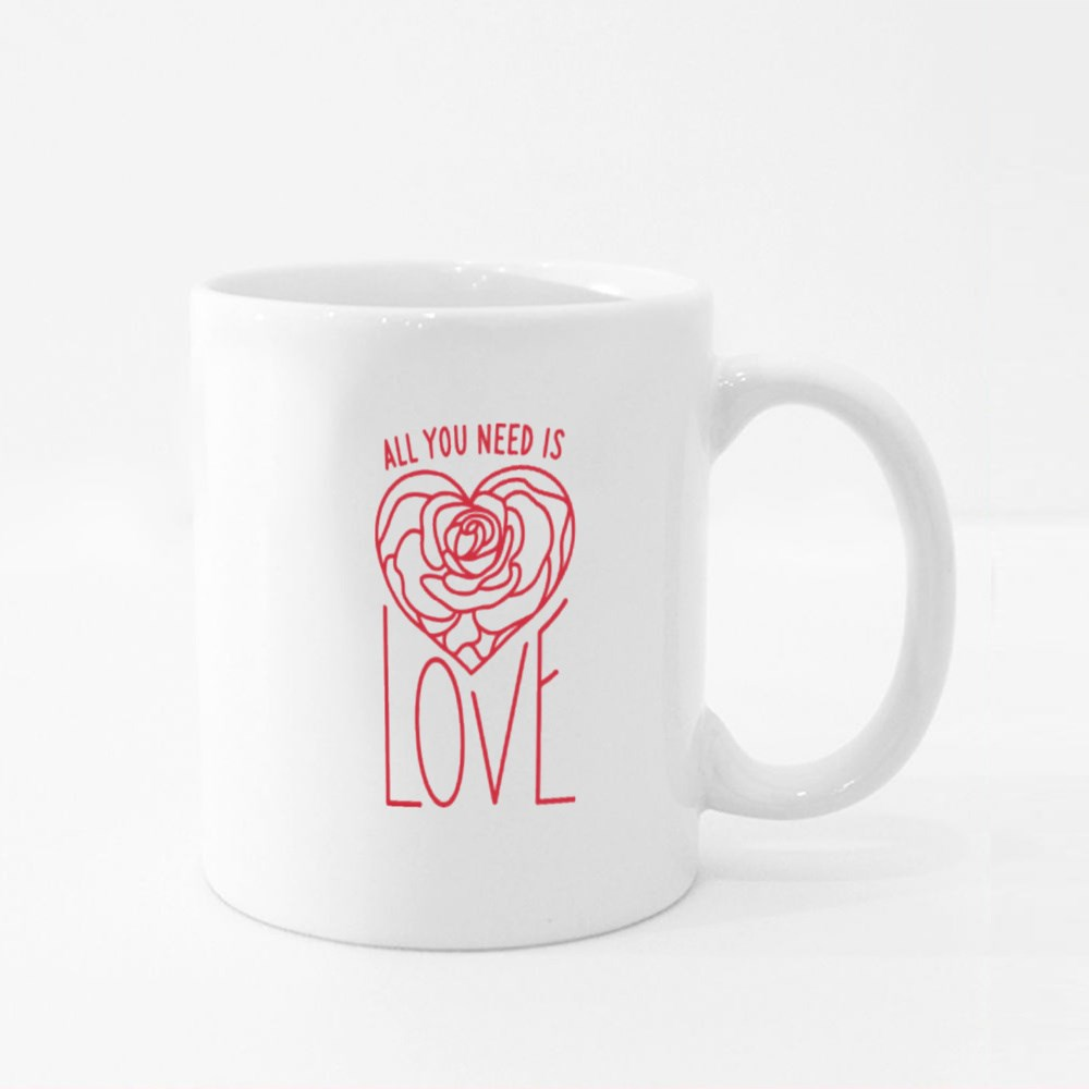 All You Need Is Love Colour Mugs