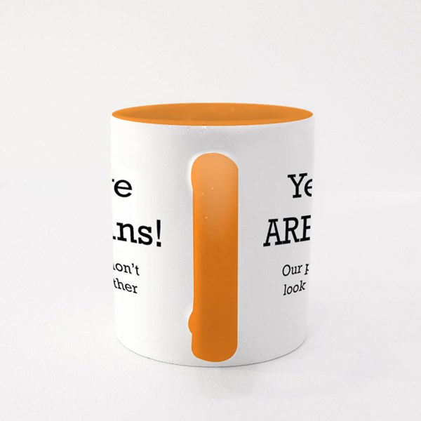 Yes, We Are Twins Colour Mugs