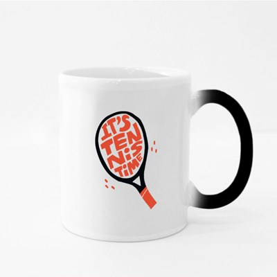It's Tennis Time Magic Mugs