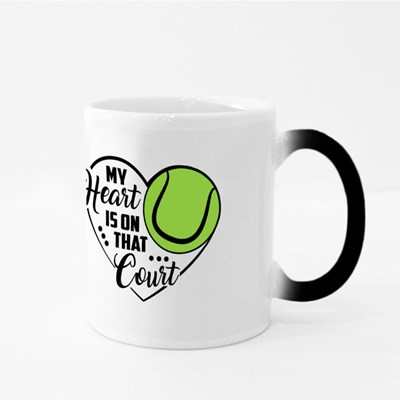 My Heart Is on That Court Magic Mugs
