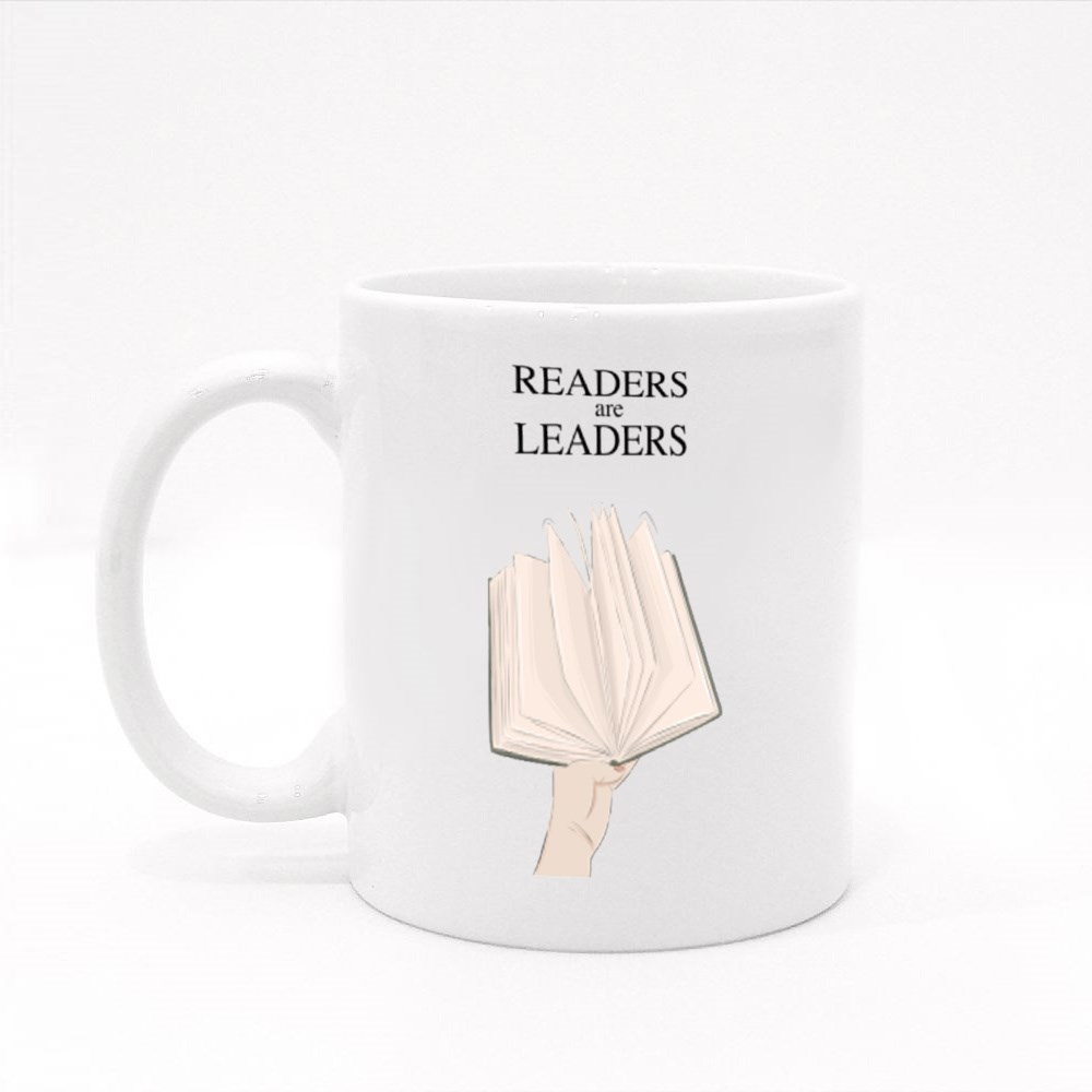 Readers Are Leaders Colour Mugs