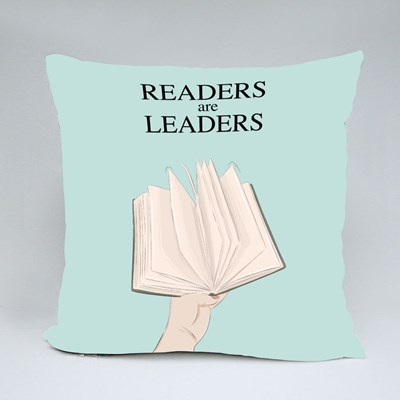 Readers Are Leaders 抱枕