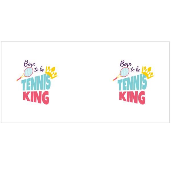 Born to Be Tennis King Colour Mugs