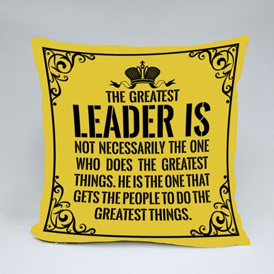 The Greatest Leader Is 抱枕