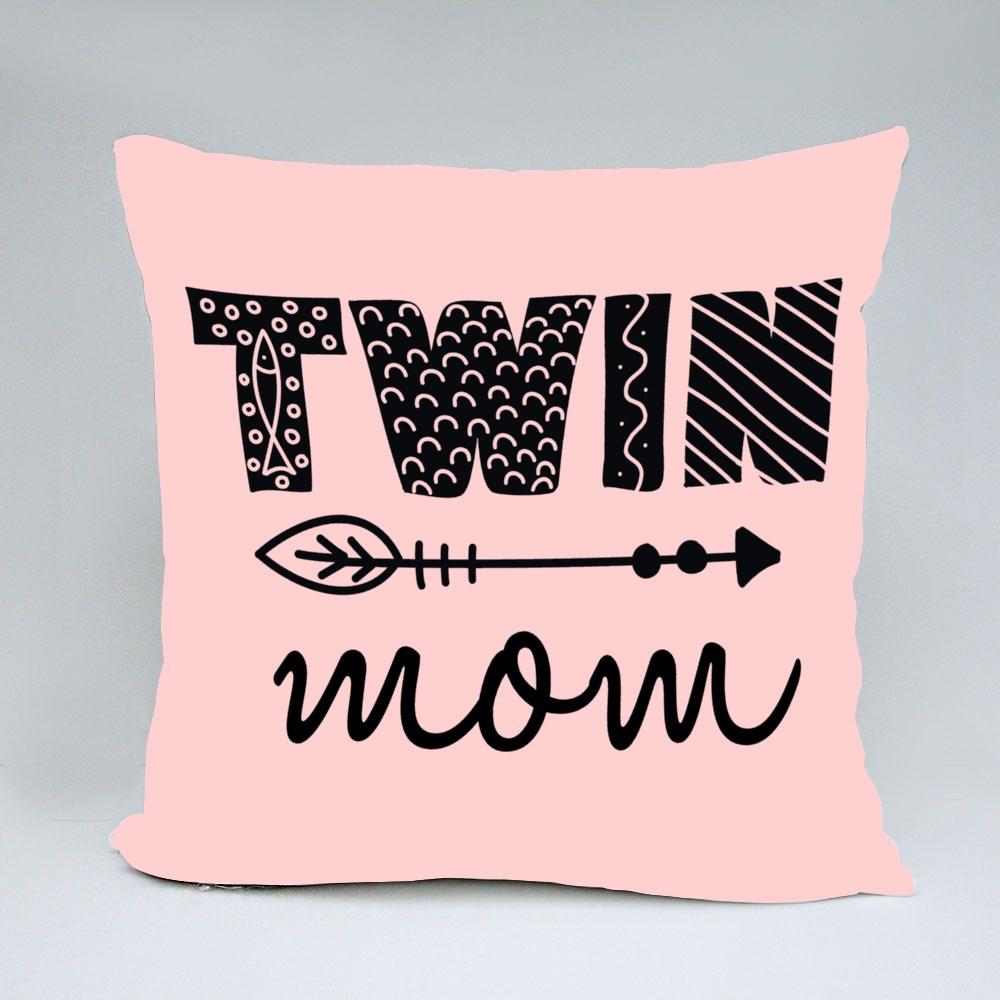 Twin Mom Typography Bantal