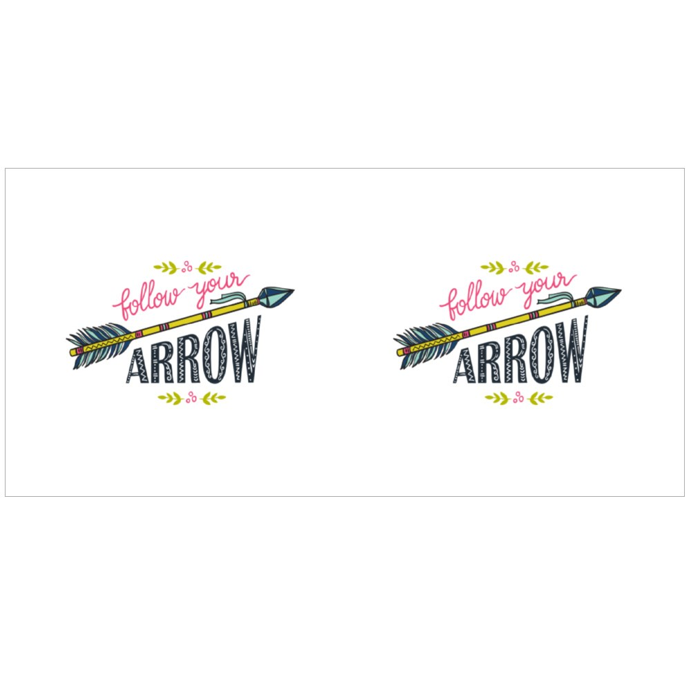 Follow Your Arrow Colour Mugs