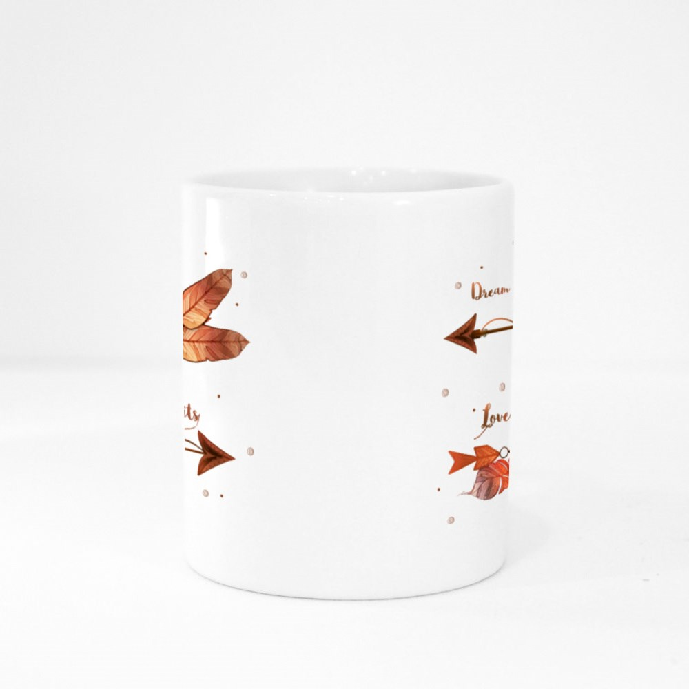 Dream Without Fear Colour Mugs