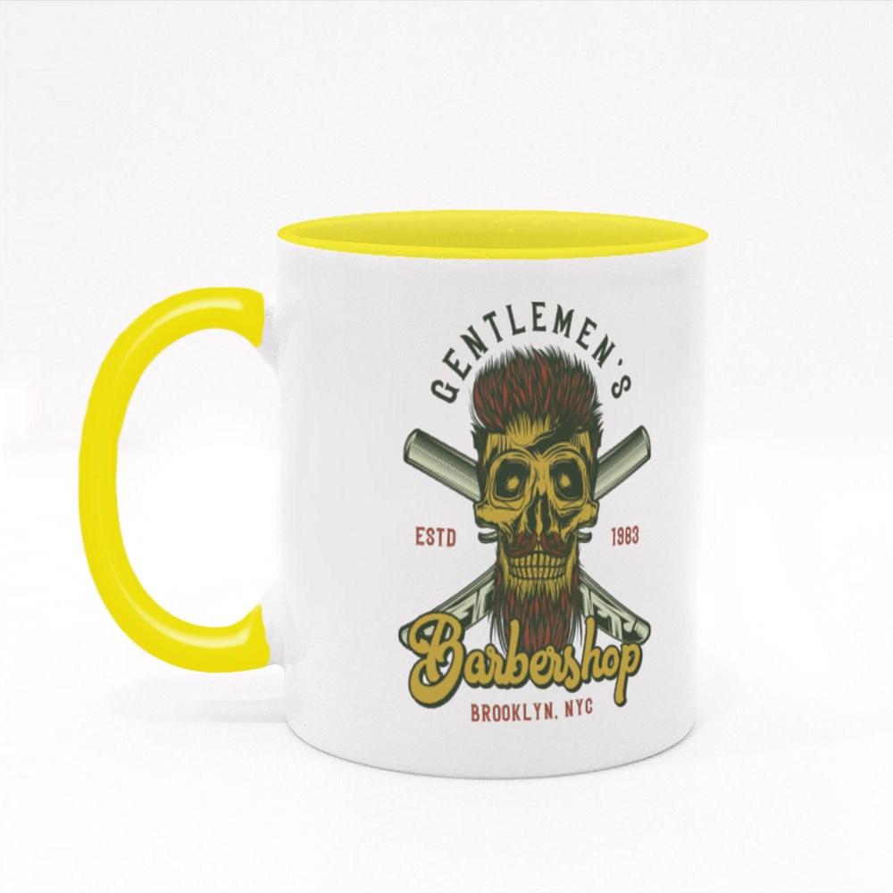 Gentlemen's Barbershop Colour Mugs