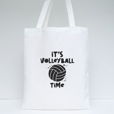 It's Volleyball Time 帆布袋
