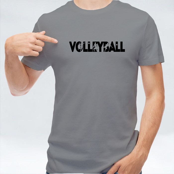 Volleyball Silhouate 短袖T恤