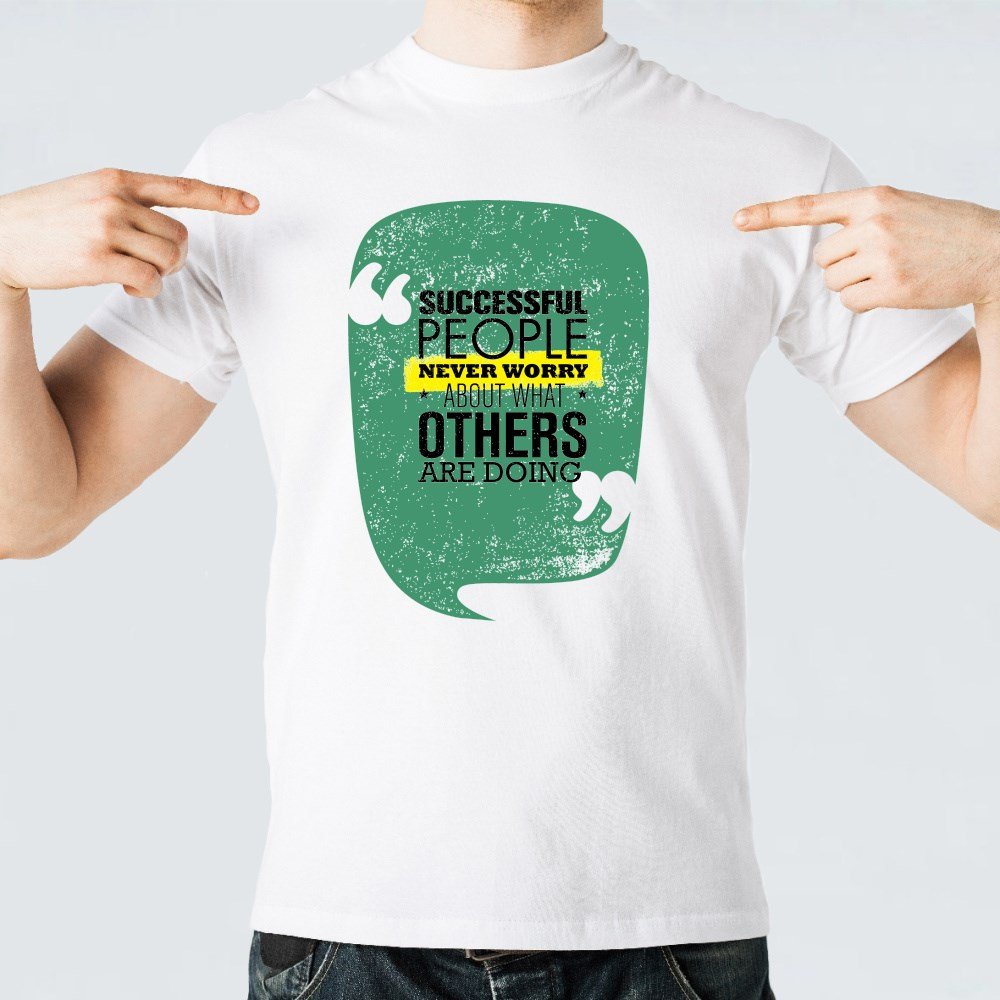Successful People Never Worry T-Shirts