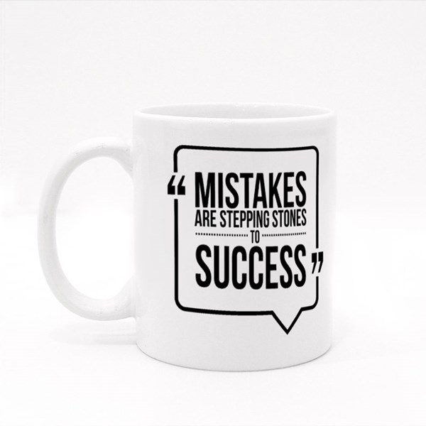 Mistakes Are Stepping 彩色杯