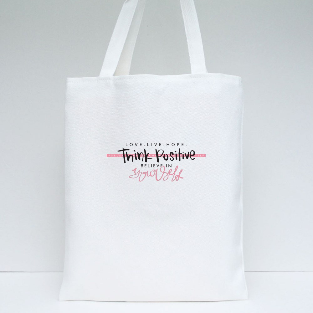 Believe in Yourself Tote Bags