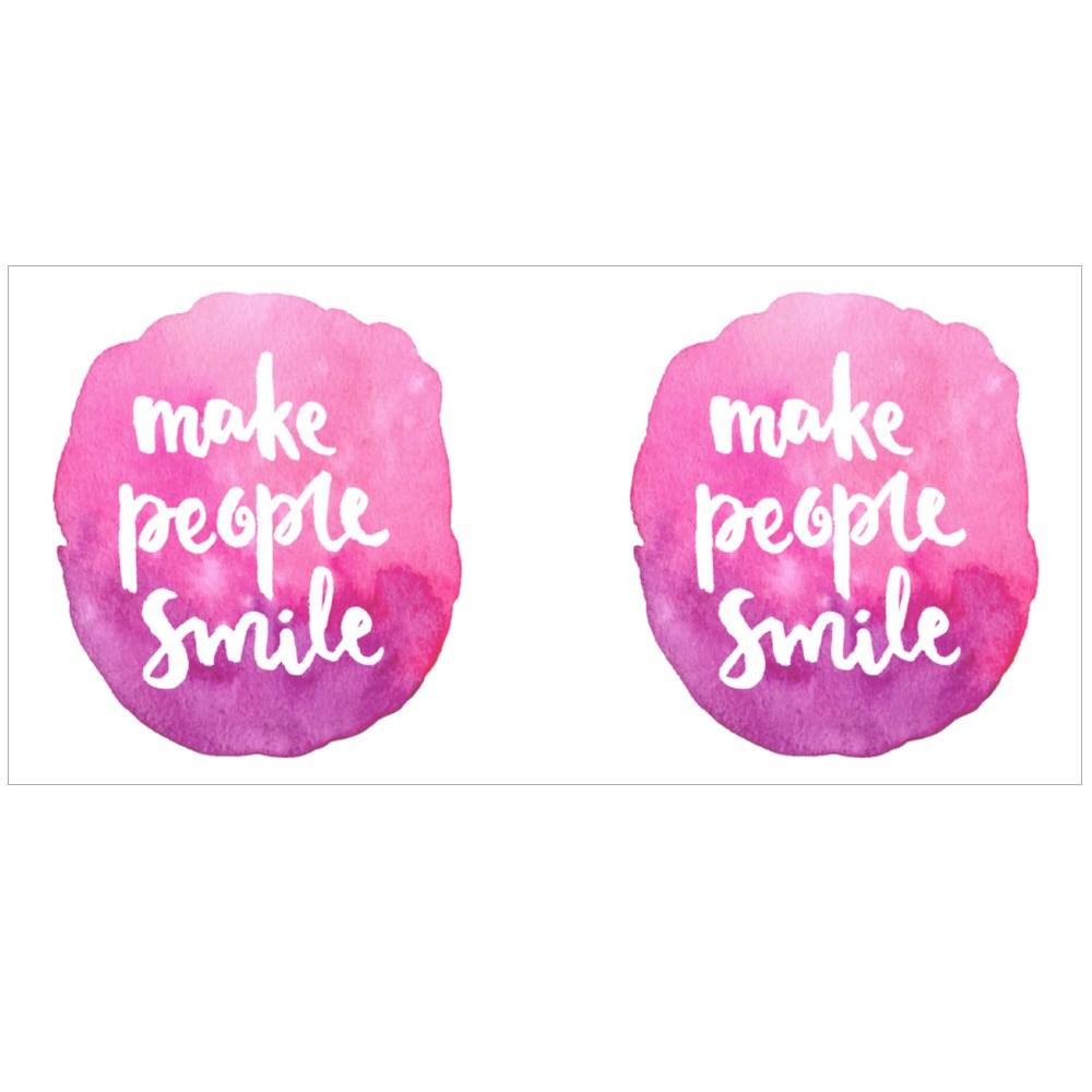 Make People Smile Colour Mugs