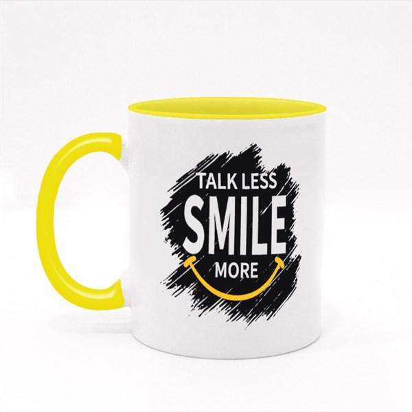 Talk Less Smile More 彩色杯