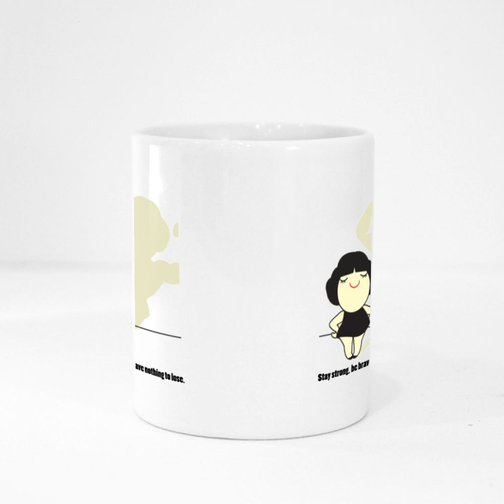Stay Strong Be Brave Magic Mugs
