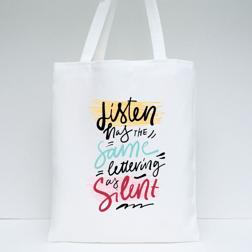 Quote About Education Tote Bags