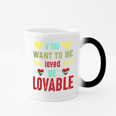 Be Lovable to Be Loved 魔法杯