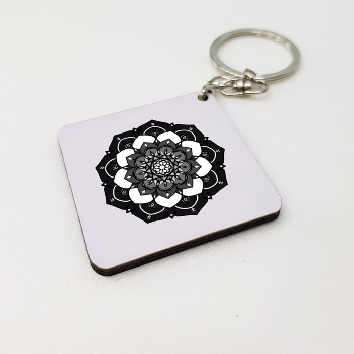 02 Wooden Keychains (Square)