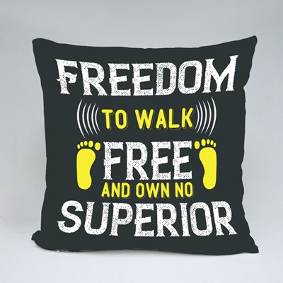 Free and Own No Superior 抱枕