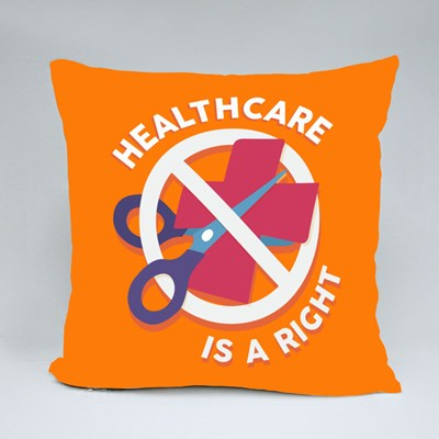 Healthcare Is a Right 抱枕