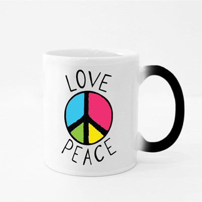 Love and Peace Logo 魔法杯