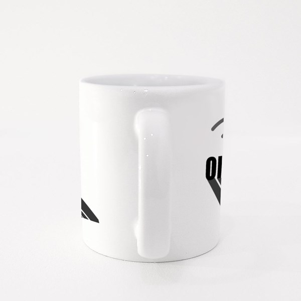 On Air Sign Live Black Colour Mugs