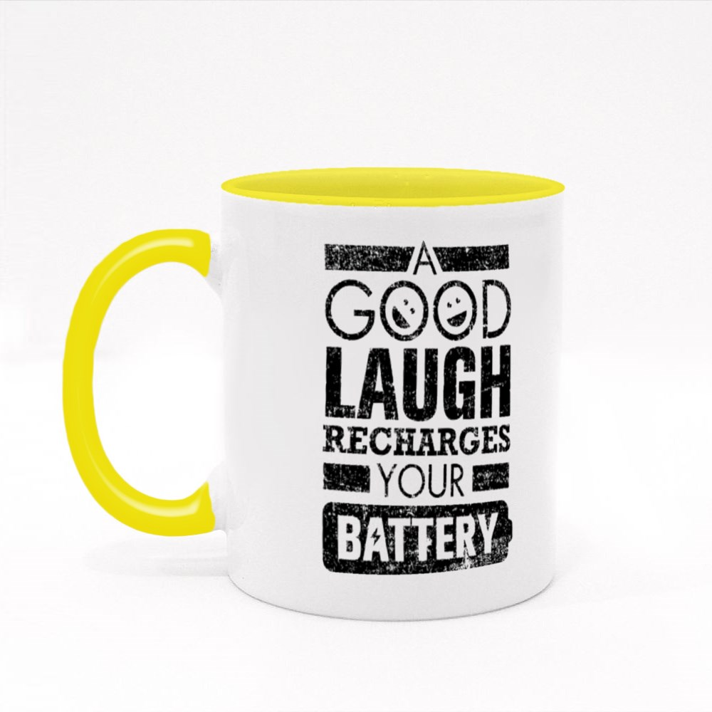 Recharges Your Battery Colour Mugs
