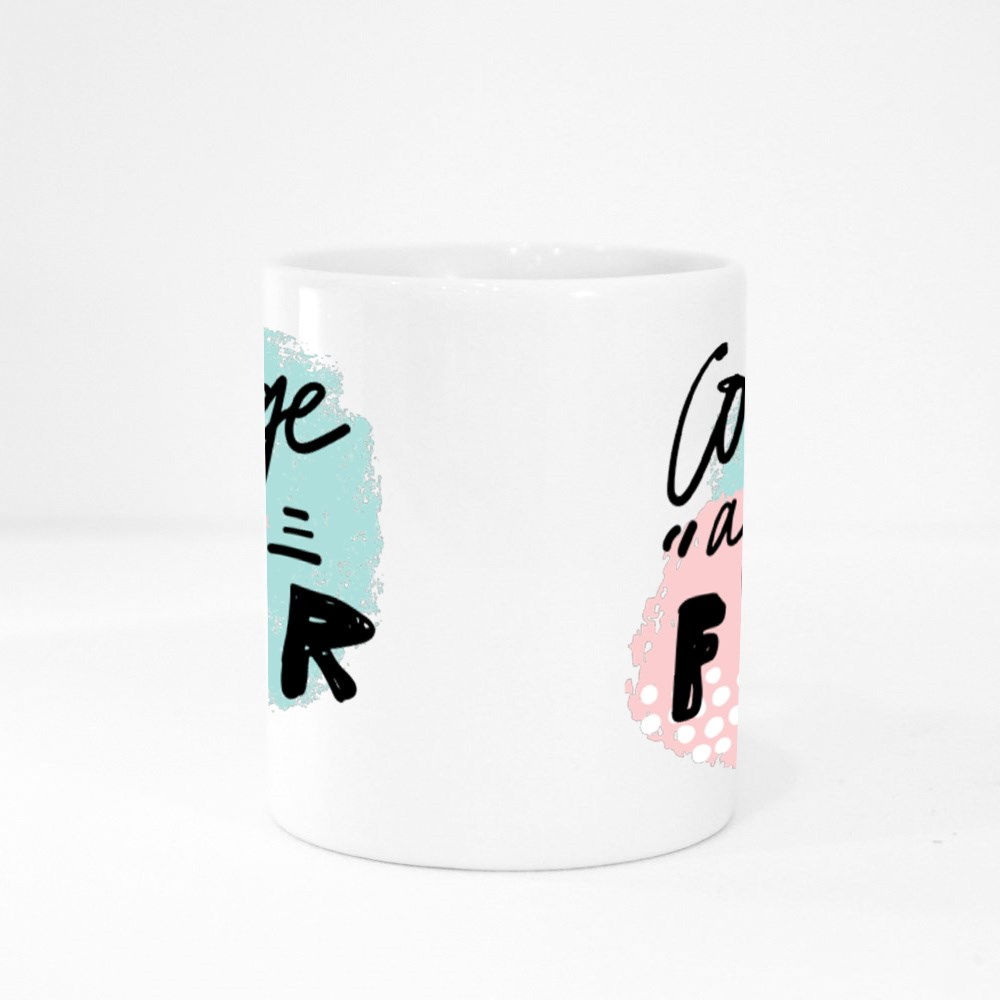 Courage After Fear Quotes Colour Mugs