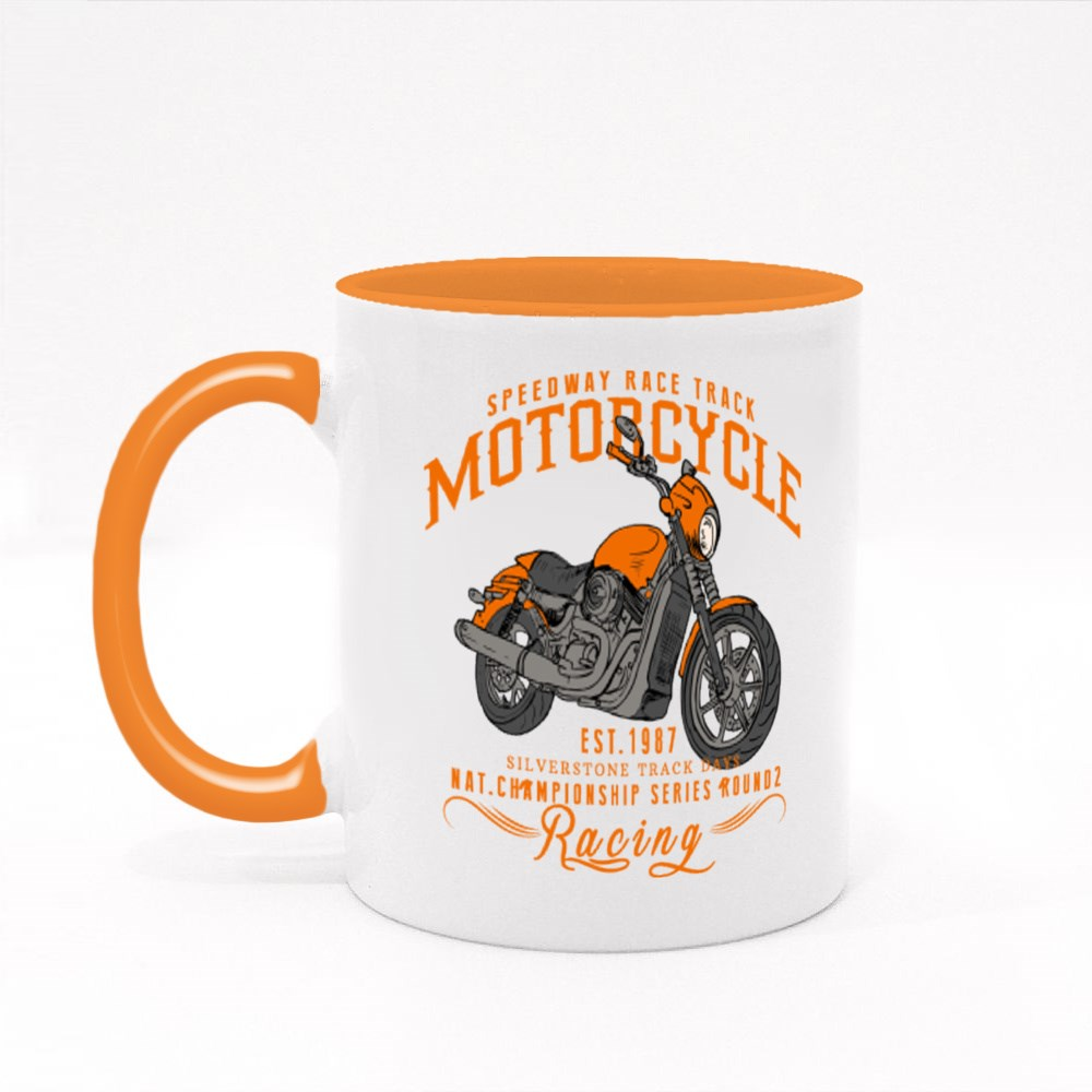 Speedway Race Track Colour Mugs