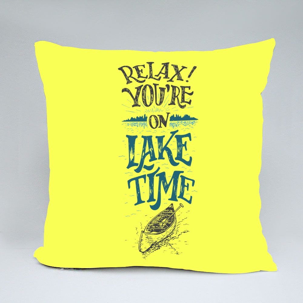 Relax. You're on Lake Time Bantal