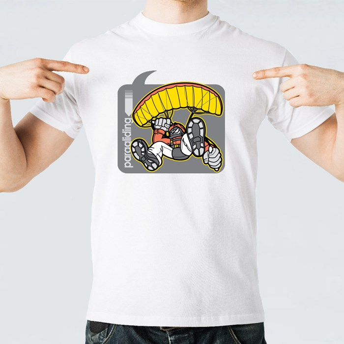 Paraglider in Speech Bubble T-Shirts