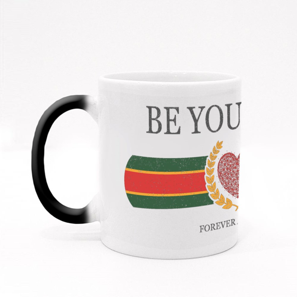 Be Yourself Forever and Ever Magic Mugs