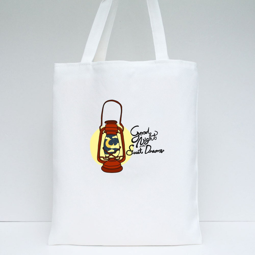 Goodnight and Sweet Dreams Tote Bags