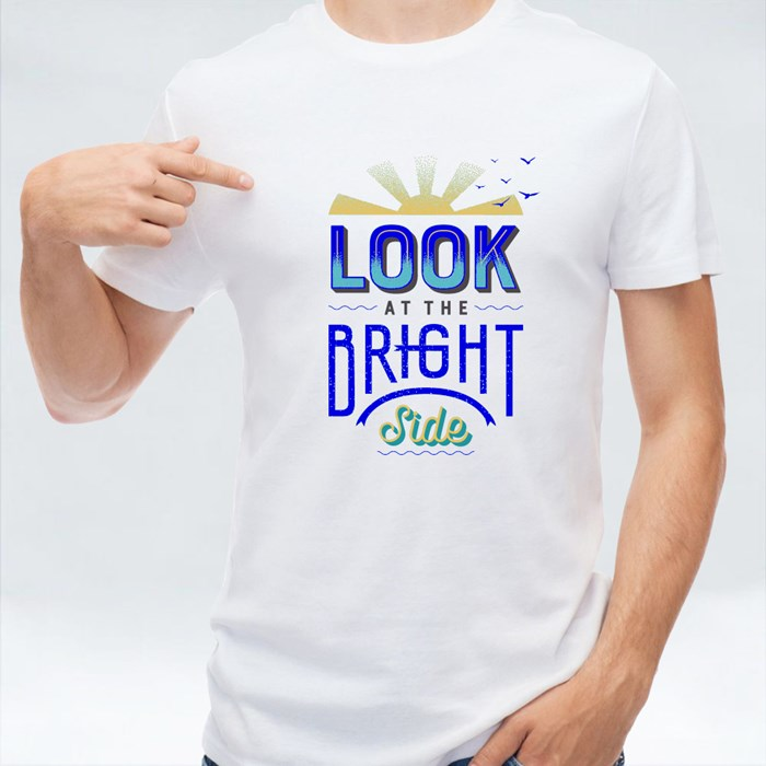 Look at the Bright Side 短袖T恤