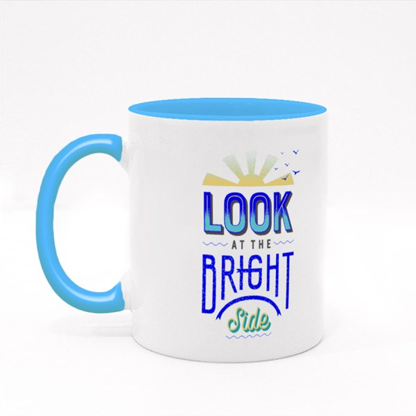 Look at the Bright Side 彩色杯