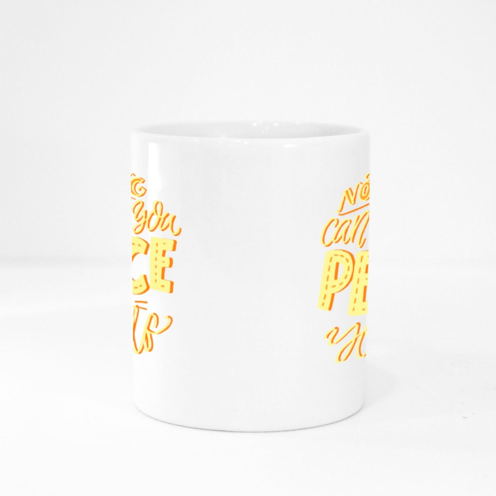 Nothing Can Bring You Peace Colour Mugs